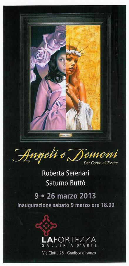 Angeli e demoni - Roberta Serenari e Saturno Buttò
