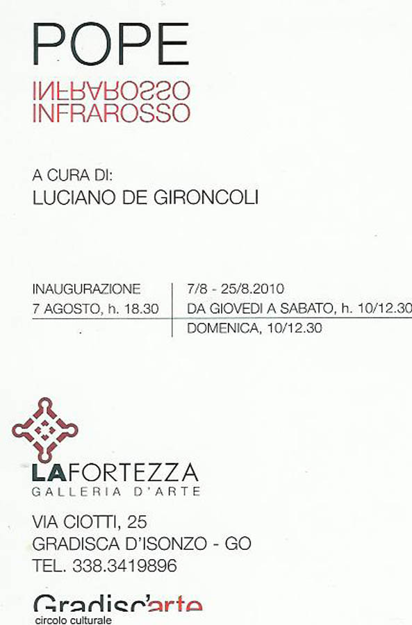Infrarosso - Pope