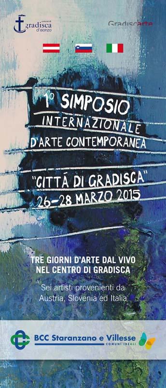 1°Simposio internazionale d'arte contemporanea Città di Gradisca